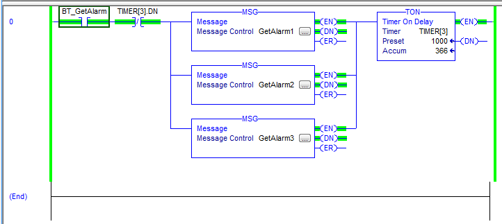 Configure Explicit Messages to pull data from the FLIR AX8