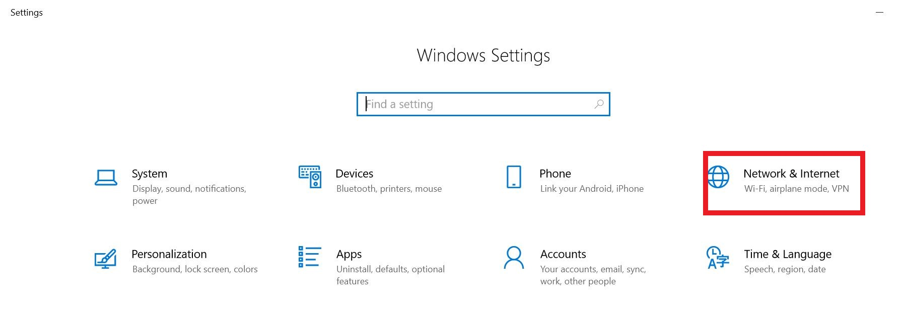 Can't find my camera with FLIR IP Config on Windows 10